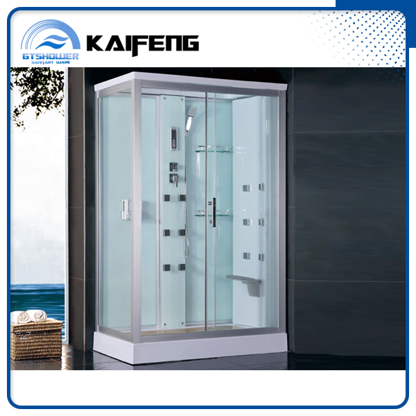 Compact Glass Shower House with Folding Seat (KF-T992F)