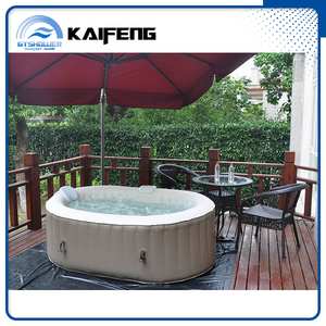 2 Person Inflatable Hot Tub with Air Bubble