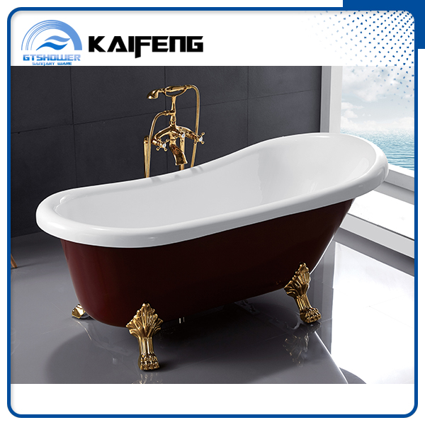 Nice Design High Quality Clawfoot Bathtub